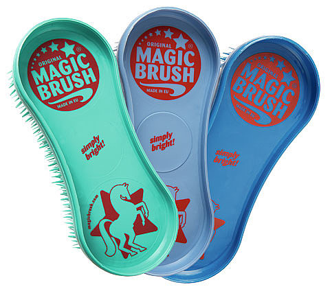 Magic Brush, Pferdebürstenset Deep Sea