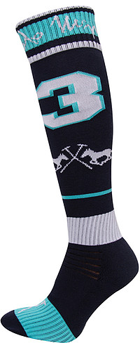 HV Polo Socks Equipo 39-​42/​Navy/​Mint