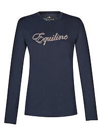 Equiline T-​Shirt Lotus