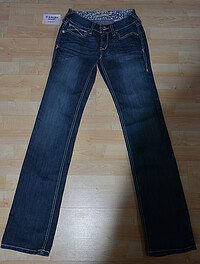 Ariat Jeans Real Low Rise Straight-​Kylie