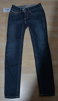 Ariat Jeans Real Skinny Whipstitch