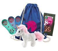 Magic Brush Einhorn Set-​2, (4tlg) blau