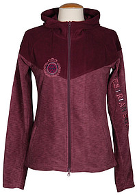 Fleecejacke Abingdon prune-​purple 140