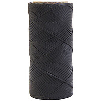 Imperial Braided waxed Faden black