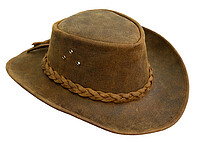 Kakadu Bulldog Hat Brown, L-​59cm
