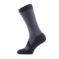 Sealskinz Socke Walking Thin Mid sch. XL